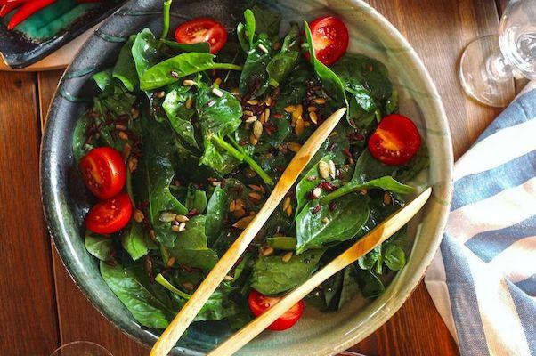 ispanak salatasi tarifi