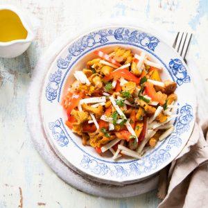 mantarli kereviz salatasi